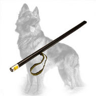 Leather Covered German Shepherd Stick for Agitation Training