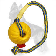 Foam German Shepherd Ball Lightweight on the Rope
