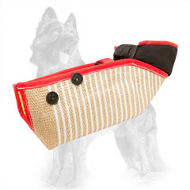 Short Jute German Shepherd Bite Sleeve for Training Young and Adult Dogs