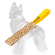 Jute German Shepherd Bite Tug for Puppy Training