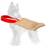 Jute German Shepherd Bite Tug for Puppies