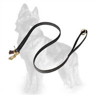 I-Grip Nylon German Shepherd Leash with Rubber Lines