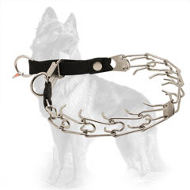 Herm Sprenger Pinch Collar Stainless Steel with Nylon Loop for German Shepherd (3.2 mm diameter of prongs)