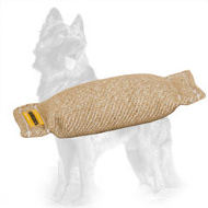Jute German Shepherd Bite Tug without Handles