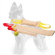Jute German Shepherd Training Set of 3 Bite Tugs with Ball Absolutely Free
