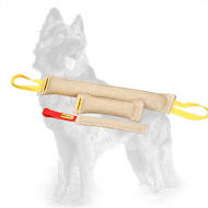 Jute German Shepherd Training Set of Three Bite Tugs