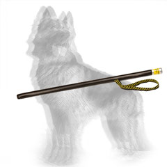 Leather Covered Dog Stick for German Shepherd Agitation Training