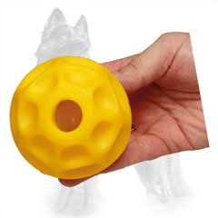 Tetraflex German Shepherd Ball Medium for Chewing Treats