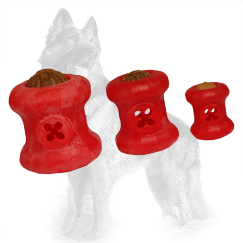 German Shepherd Balls Treat Holders of 3 Sizes