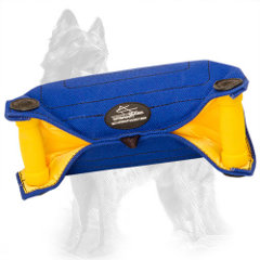 German-Shepherd Bite Builder French Linen with Two Padded Hard Handles
