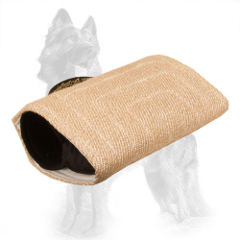 German Shepherd Bite Builder Jute Advanced for Training Young Dogs