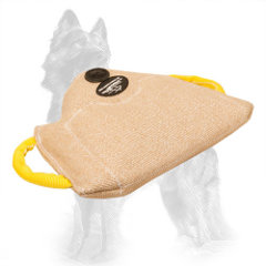 Advanced Jute Bite Builder for Training Puppies and Young German Shepherds