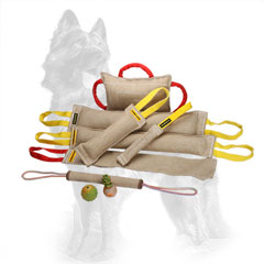 Special Offer Jute German-Shepherd Set for Training and Playing