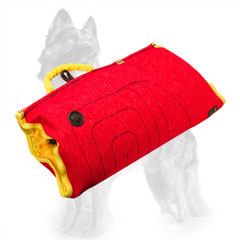 French Linen German-Shepherd Bite Sleeve for Advanced Puppy Training