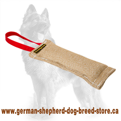 Small Jute German Shepherd Bite Tug for Puppy Training