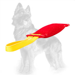French Linen German Shepherd Bite Tug for Puppy Training