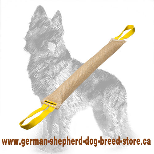 Long Jute German Shepherd Bite Tug for Dog Training