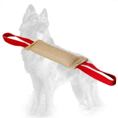 Jute German-Shepherd Bite Tug with Two Functional Handles