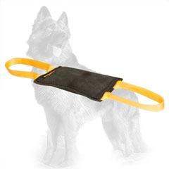 Leather German-Shepherd Bite Tug for Young Dog Training