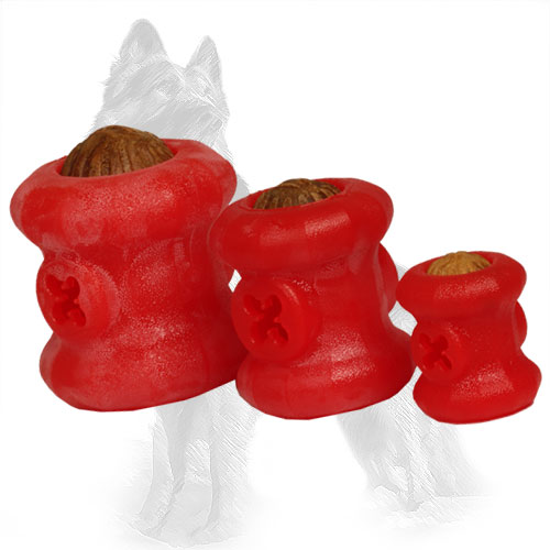 Fire Plug German Shepherd Toys with Treats for Chewing
