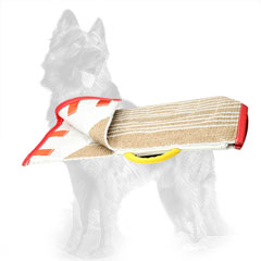 Jute German Shepherd Bite Sleeve Cover with Strong Handle