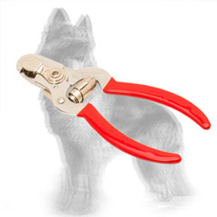 German Shepherd Nail Clipper with Vinyl Covered Handles