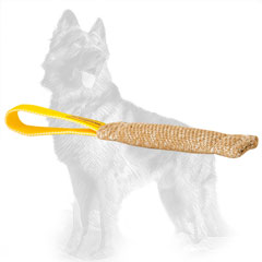 Jute German-Shepherd Bite Tug Stitched with One Handle