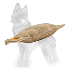 No Handles Jute German Shepherd Puppy Bite Tug for Training and Playing
