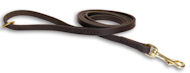 Best Leather Belt Leash -1/2 inch wide leash for German Shepherd