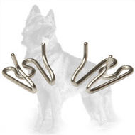 Herm Sprenger Extra Links for German Shepherd Pinch Collar of Stainless Steel (2.25 mm diameter of prongs)