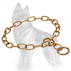 German Shepherd Fur Saver Choke Collar of Curogan