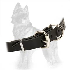 German Shepherd Classic Leather Collar