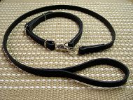 Police / Hunting Dog Leash And Collar (Combo)