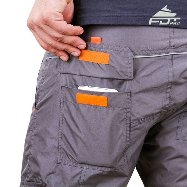 Comfortable Design Pro Pants with Handy Back Pockets for Dog Trainers