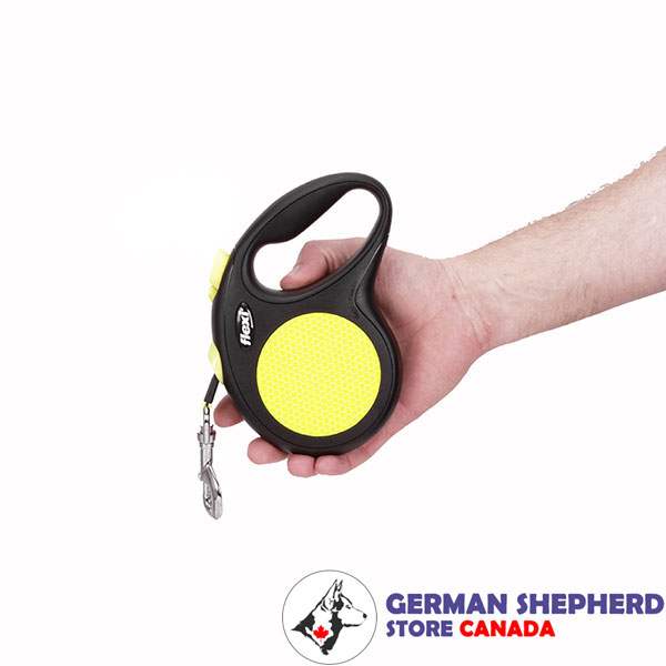 Everyday Use Neon Design Retractable Leash for Total Safety