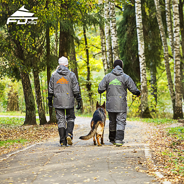 Professional Dog Trainer Jacket of Top Notch for Any Weather Use