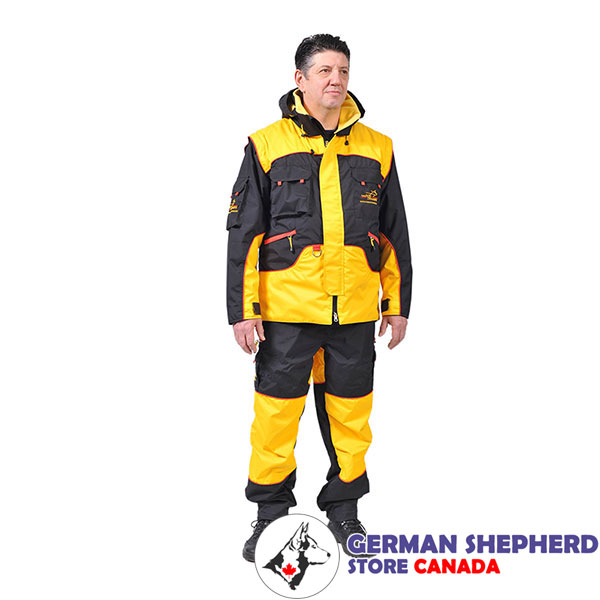 Protection Training Bite Suit of Waterproof Membrane Material