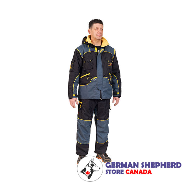 Strong Protection Suit for Safe Training