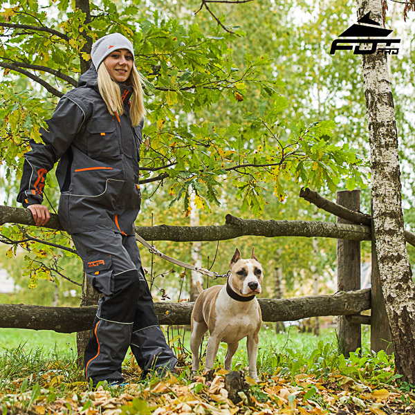 Men and Women Design Pants with Convenient Back Pockets for Active Dog Trainers