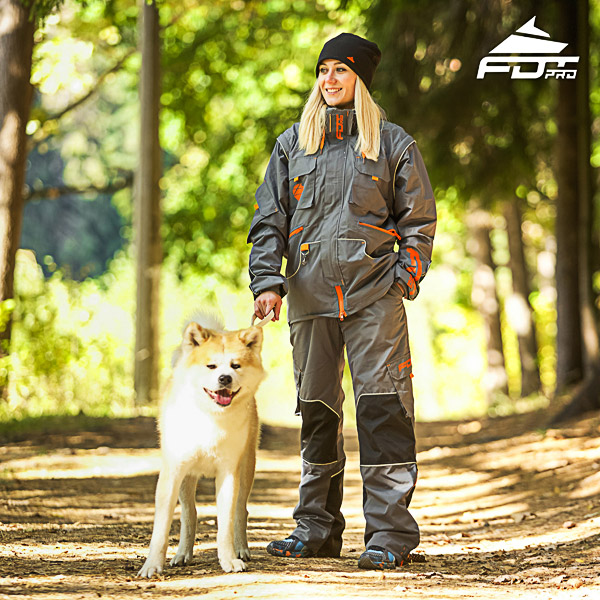 Men / Women Design Dog Trainer Jacket of Top Notch Materials