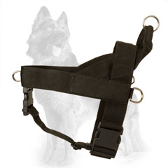 Multifunctional Nylon German Shepherd Harness for Any Weather Conditions