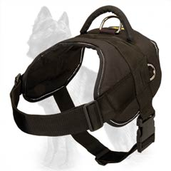 Strong Nylon German Shepherd Dog Harness For Pulling