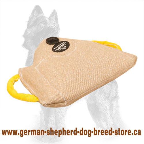 German Shepherd Bite Builder Jute for Advanced Puppy Training