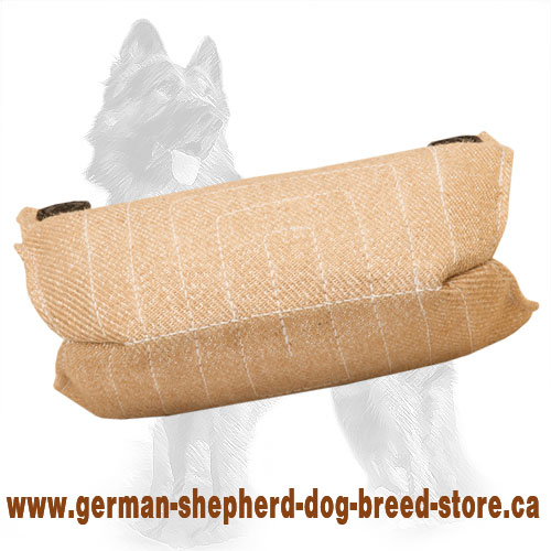 Jute Bite Builder for Training German Shepherd Puppies