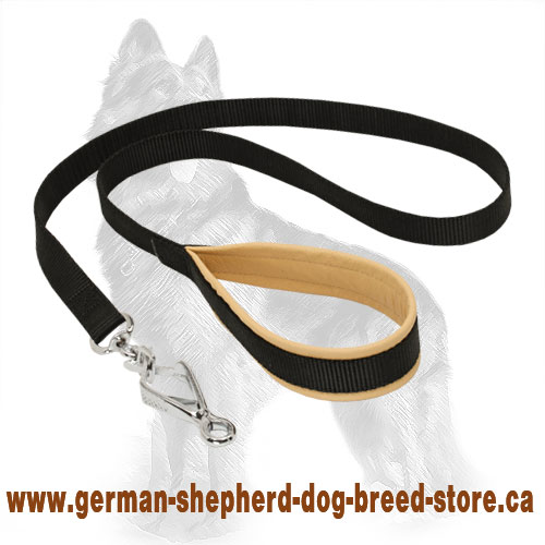 Nylon Leash 4 Foot For Walking With German Shepherds