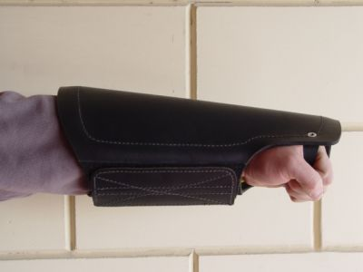 Protection arm cover made of leather for training pitbulls-PS11