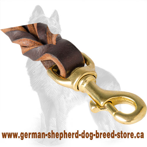 German Shepherd Dog Pull Tub Equipped with Brass Snap  Hook