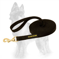 Any Weather Nylon German-Shepherd Leash for Training Work