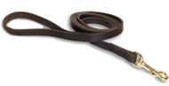 Leather Dog Leash 5 ft for German Shepherd