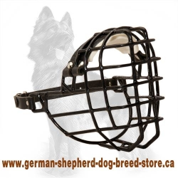 Rubber Covered Wire German Shepherd Muzzle for Any Season